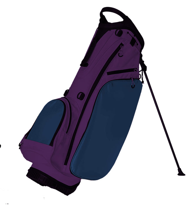 Fully Custom Golf Bag Purple