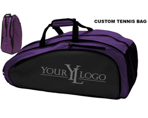 Custom Tennis Bag Purple