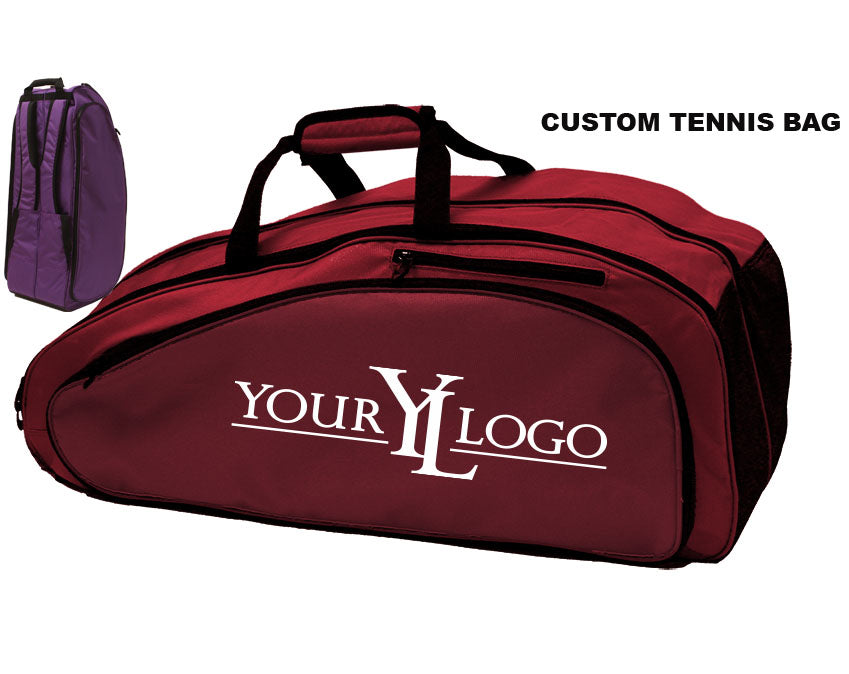 Custom Tennis Bag Red