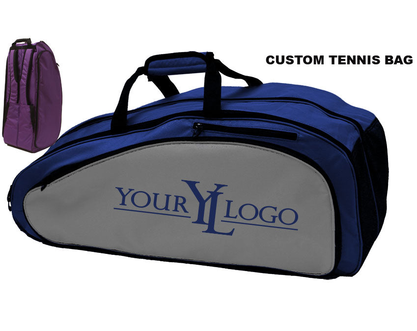 Custom Tennis Bag Royal Blue