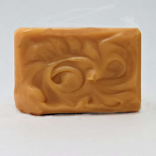 Apple Cinnamon Goat's Milk Soap Bar, All Natural with Honey, Shea, and Cocoa Butter 1