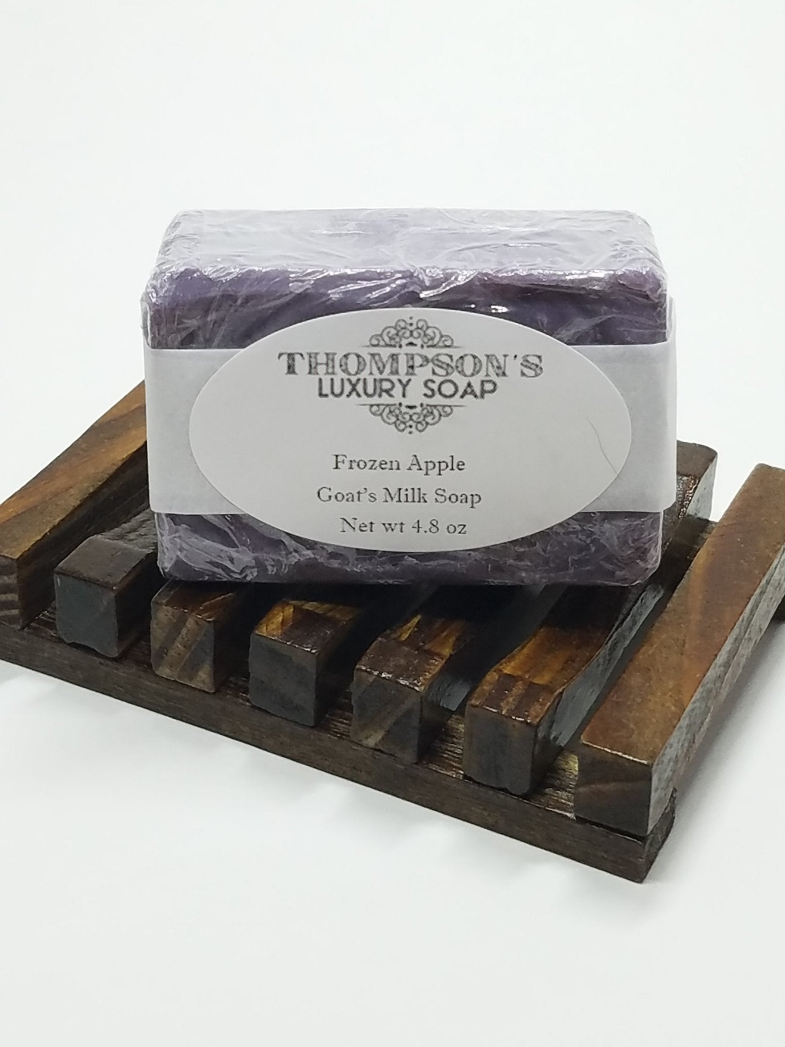 Frozen Apple All Natural Goat's Milk Soap Bar with Essential Oils - Thompson's Luxury Soap