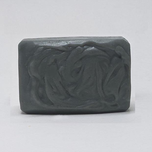 LumberJack Musk Goat's Milk Soap Bar. All Natural with Activated Charcoal, Shea Butter, and Essential Oils. 1