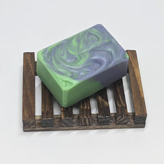 Natural Bamboo Soap Saver Dish - Thompson's Luxury Soap