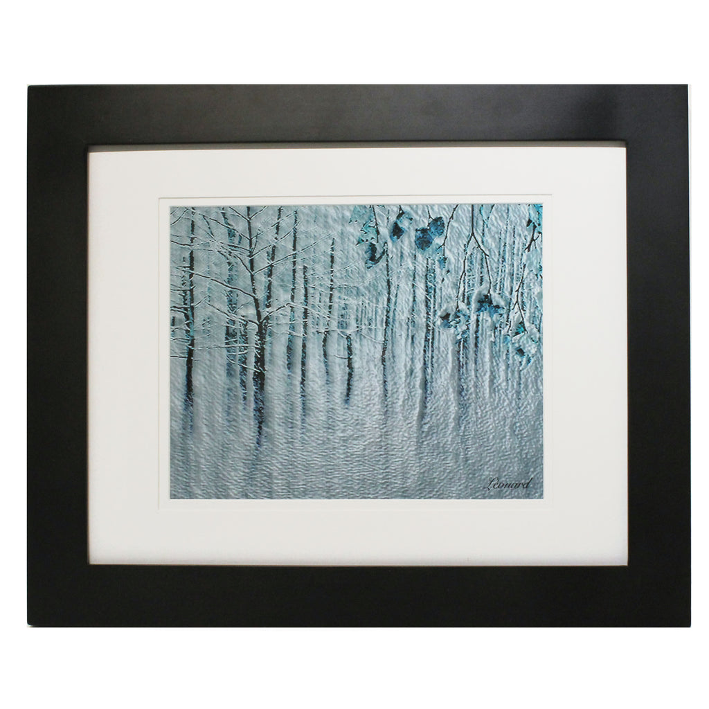 Freezing Rain by  Léonard Beauschene $145
