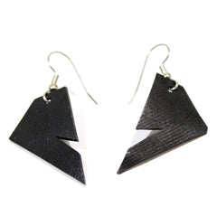 Diamond Shape Silhouette Earrings