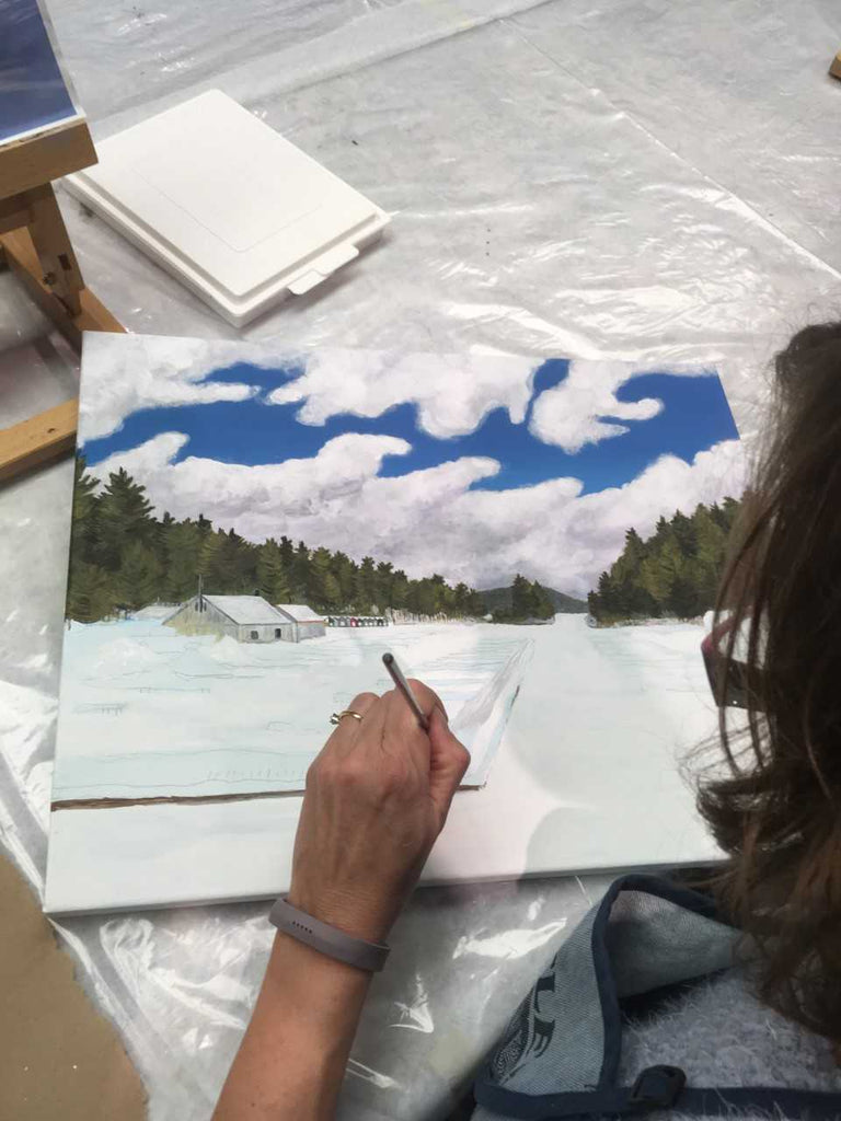 Intermediate Drawing & Watercolour with Mary Anne Secord