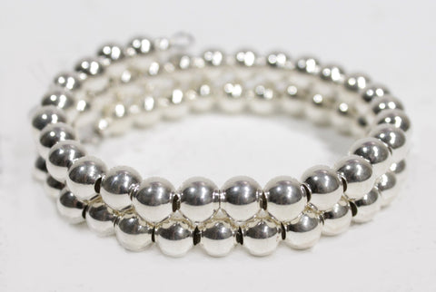 Sterling bead bracelate