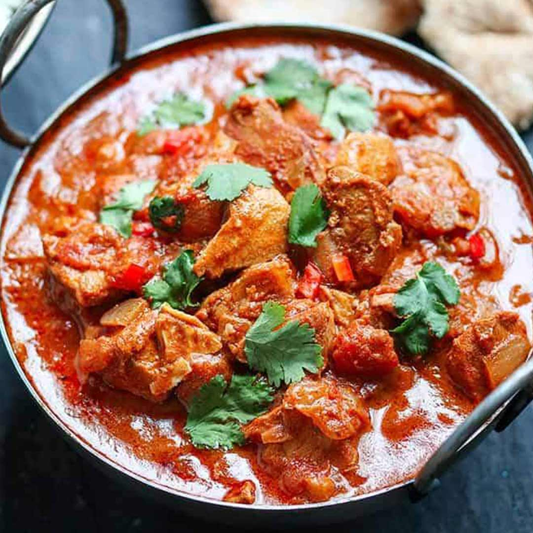 Indian Chicken and Red Pepper Curry