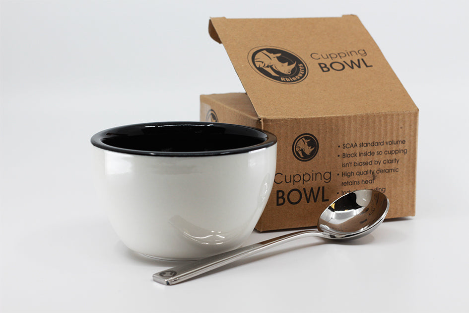 Coffee Cupping Bowl and Spoon