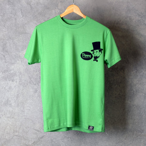 Penny T Shirt Abe Lincoln Green