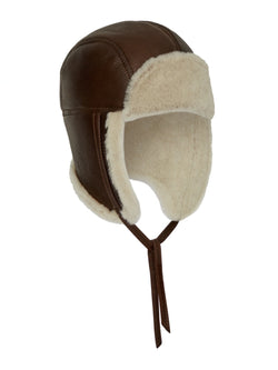 Shearling Hat Men - Shearling Aviator Hat