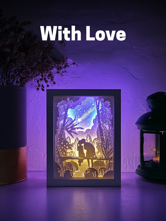 3D Shadow Box - Decorative LED Lightbox