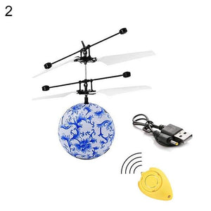 Flying Ball - IR Sensing RC Helicopter Flying Ball With LED Light