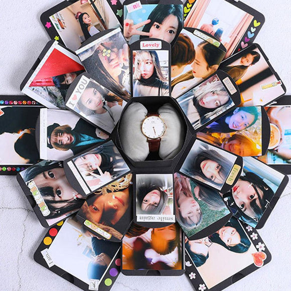 LoveBox - DIY Hexagonal Explosion Photo Box