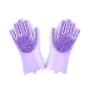 Cleaning Gloves - Gloves With Magic Silicone Rubber