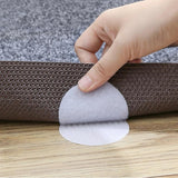 Slip No More - Furniture Pad! Best Furniture Grippers Self Adhesive Rubber Feet Carpet Gripping Stickers