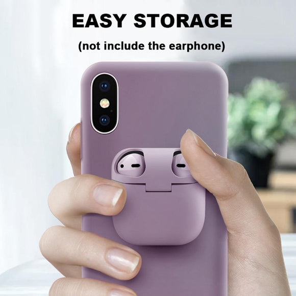 Case Pods - 2-In-1 Design IPone Case and AirPods Case
