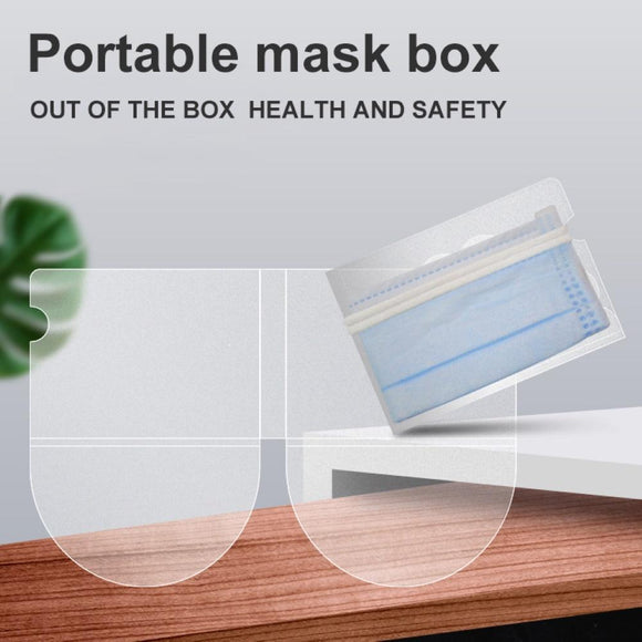 Mask Guard - Portable and Folding Face Mask Protector