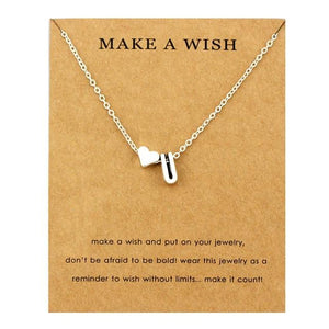 Initial Necklaces - Personalized Initial Letters Necklace