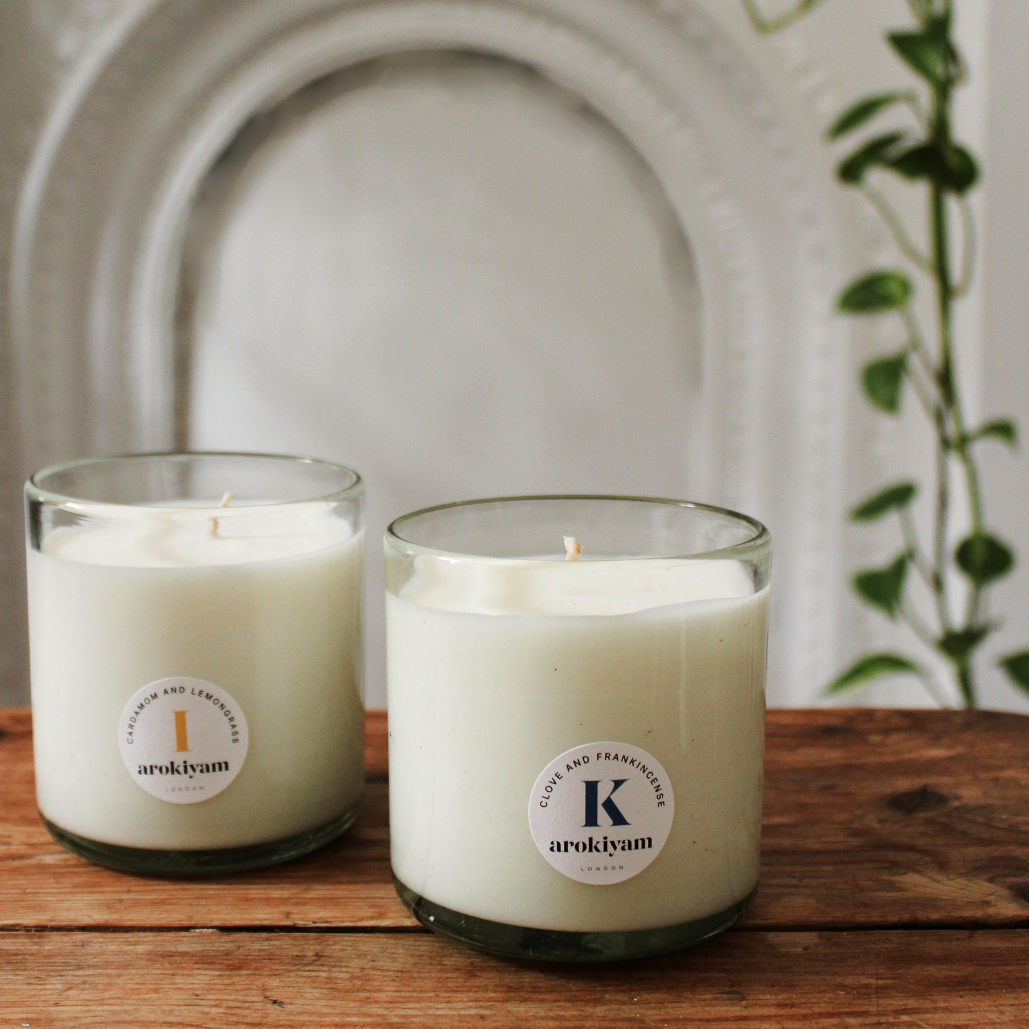 Natural Candles London Arokiyam London, 100% Vegan