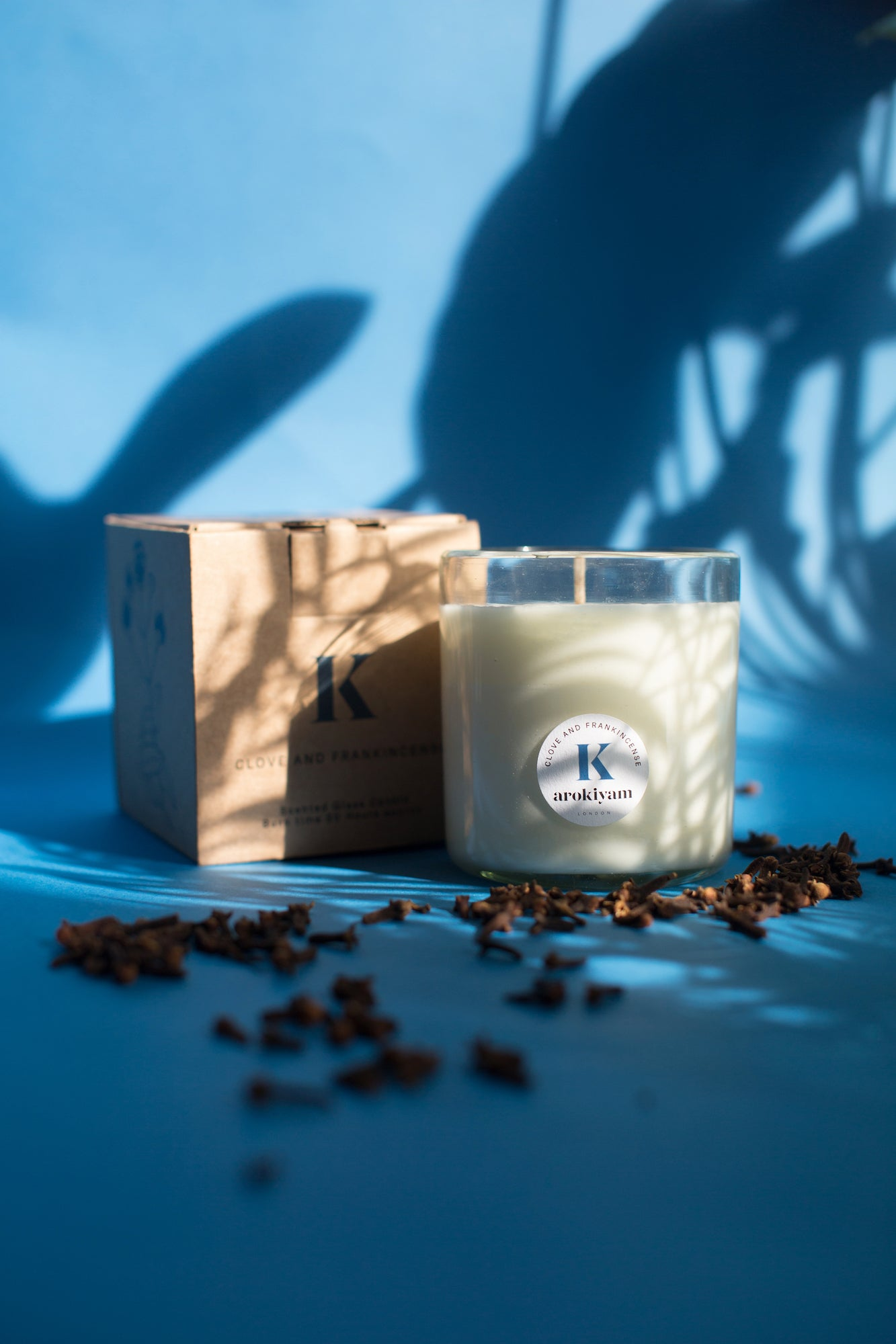 K | Clove and Frankincense Candle