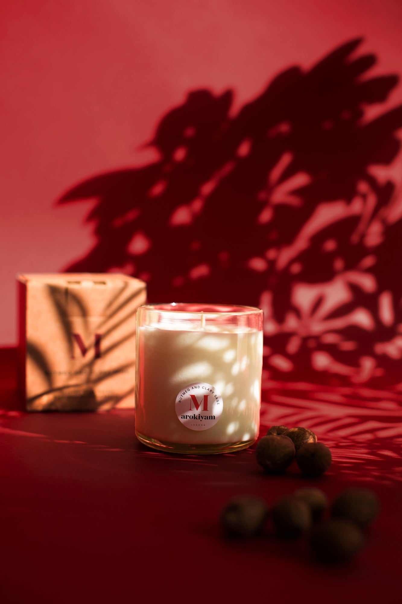 M | Nutmeg and Clary Sage Candle