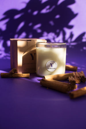 Y | Vetiver and Cinnamon Candle