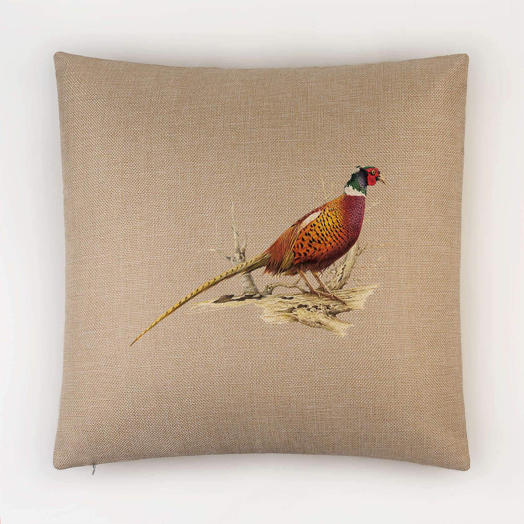 Cock Pheasant Cushion - Countryman John
