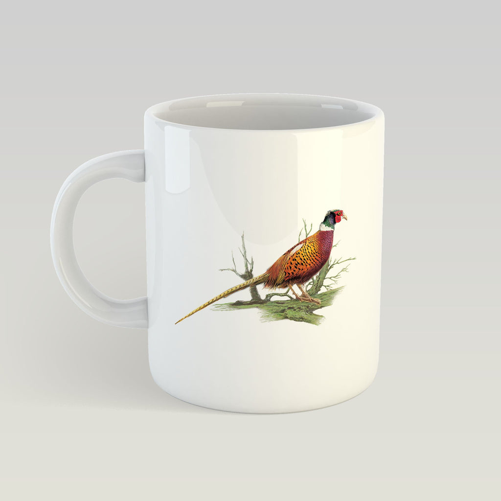 Cock Pheasant on Branch Mug - Countryman John