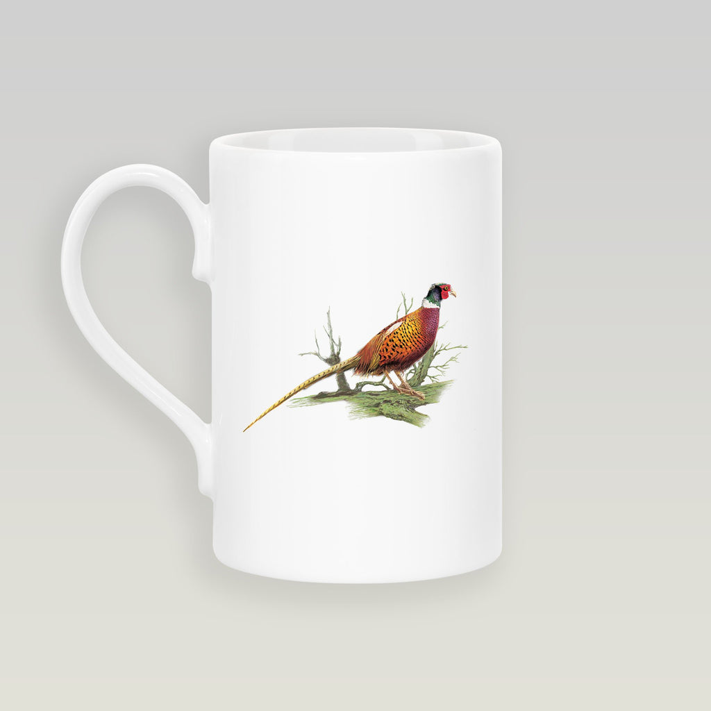 Cock Pheasant on Branch Slim Mug - Countryman John