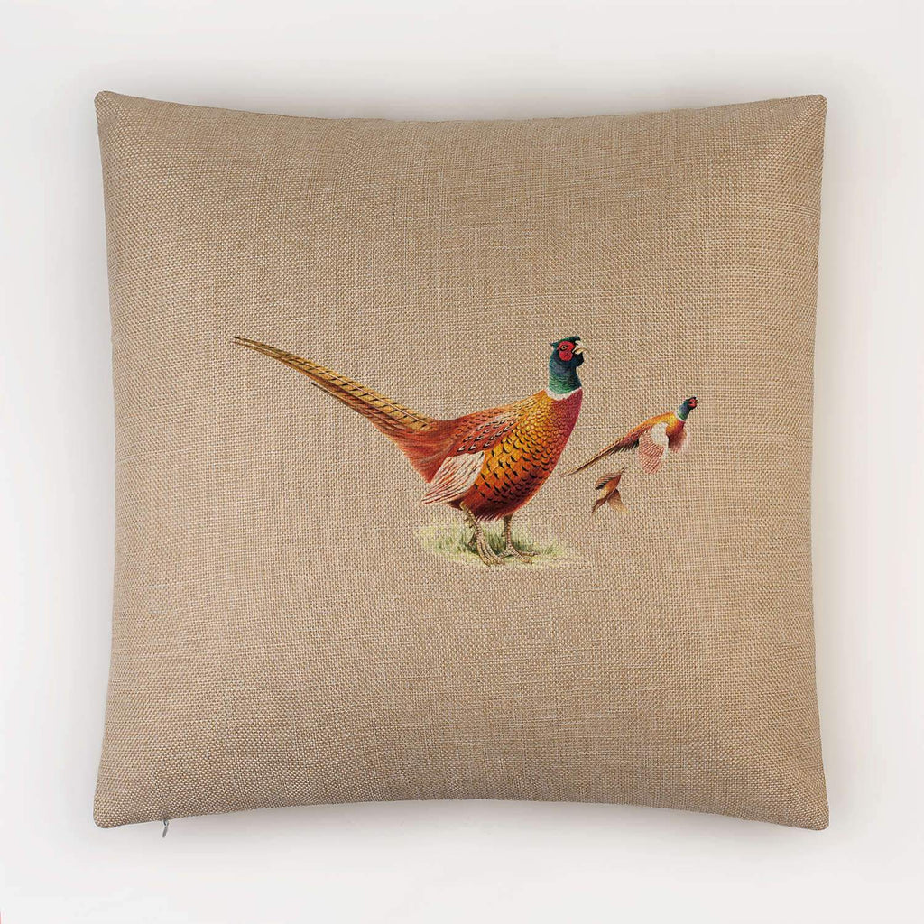 Cock Pheasants Cushion - Countryman John