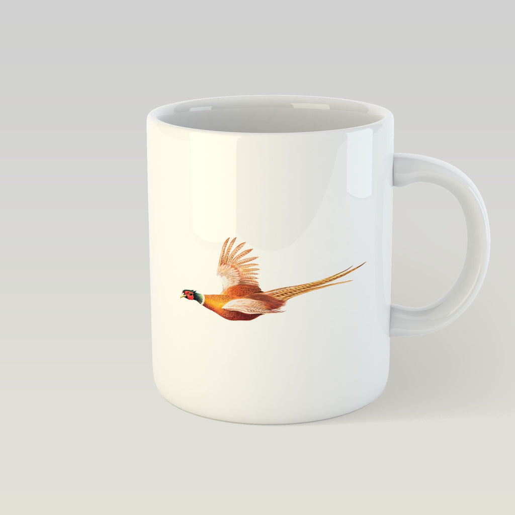 Pheasant in Flight Mug - Countryman John