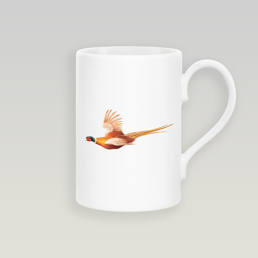 Pheasant in Flight Slim Mug - Countryman John