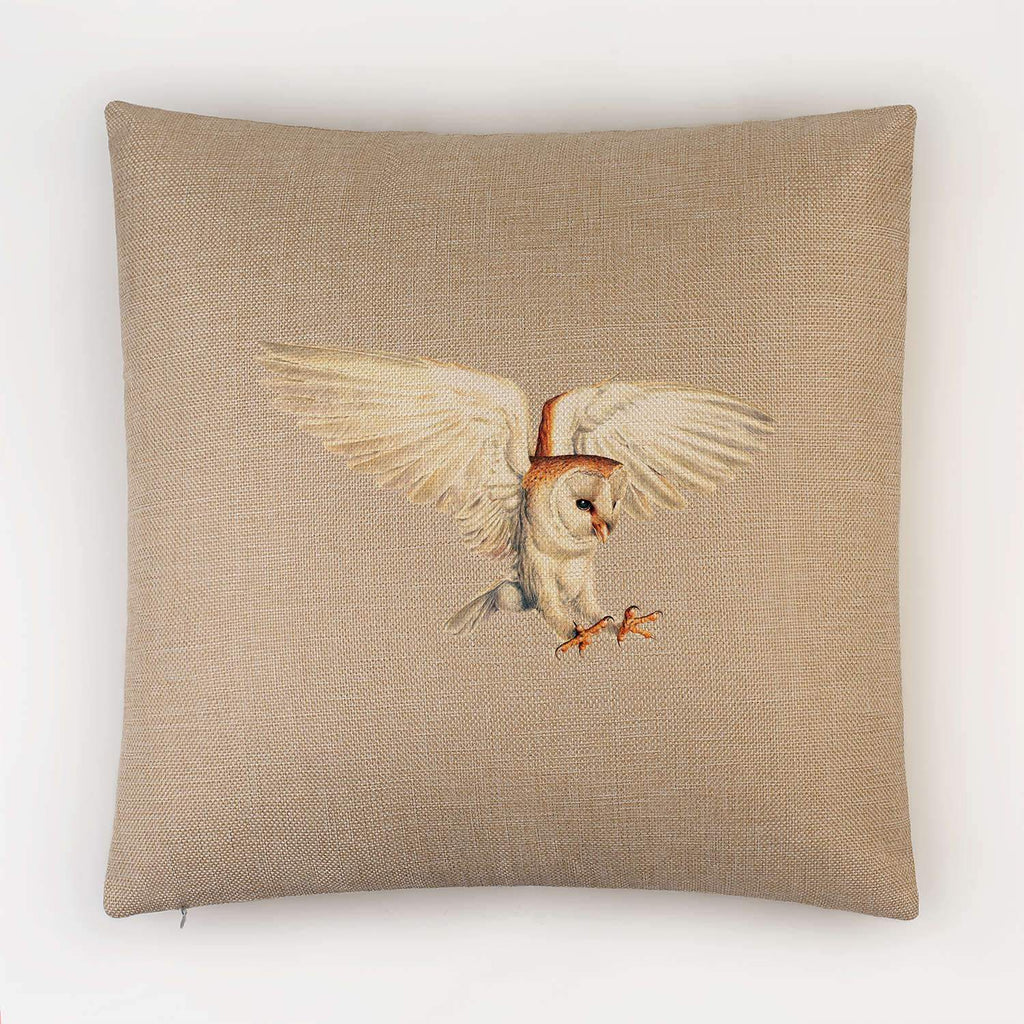 Barn Owl Cushion - Countryman John