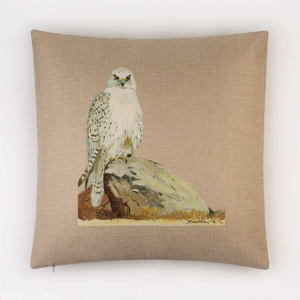 Gyr Falcon Cushion - Countryman John