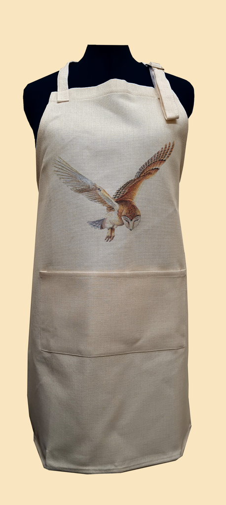 Barn Owl in Flight Apron