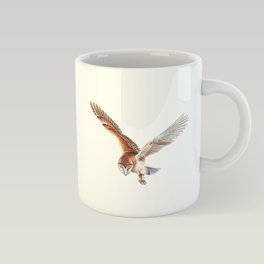 Barn Owl in Flight Mug - Countryman John
