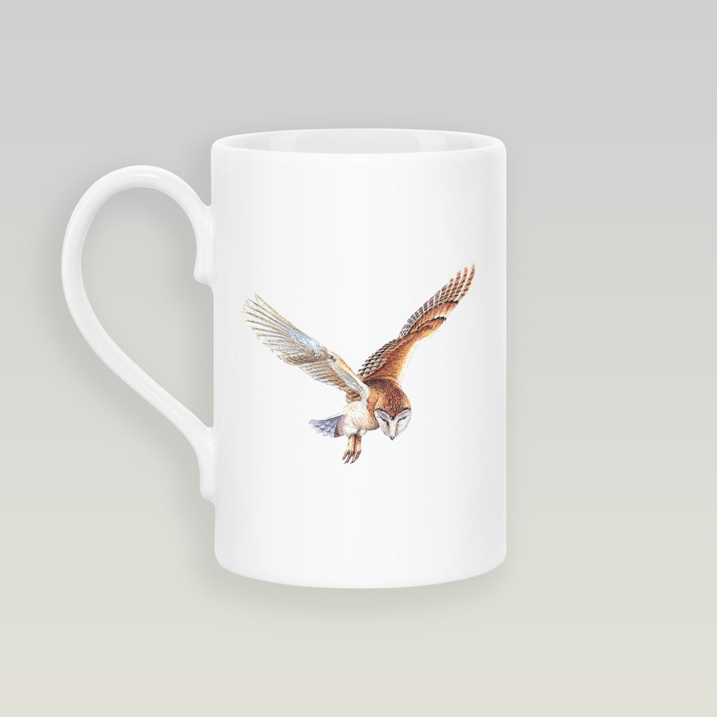 Barn Owl in Flight Slim Mug - Countryman John