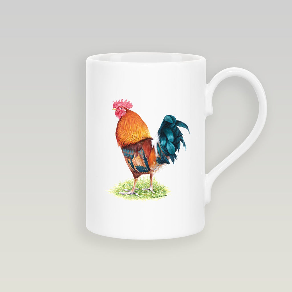 Cockerel Slim Mug - Countryman John