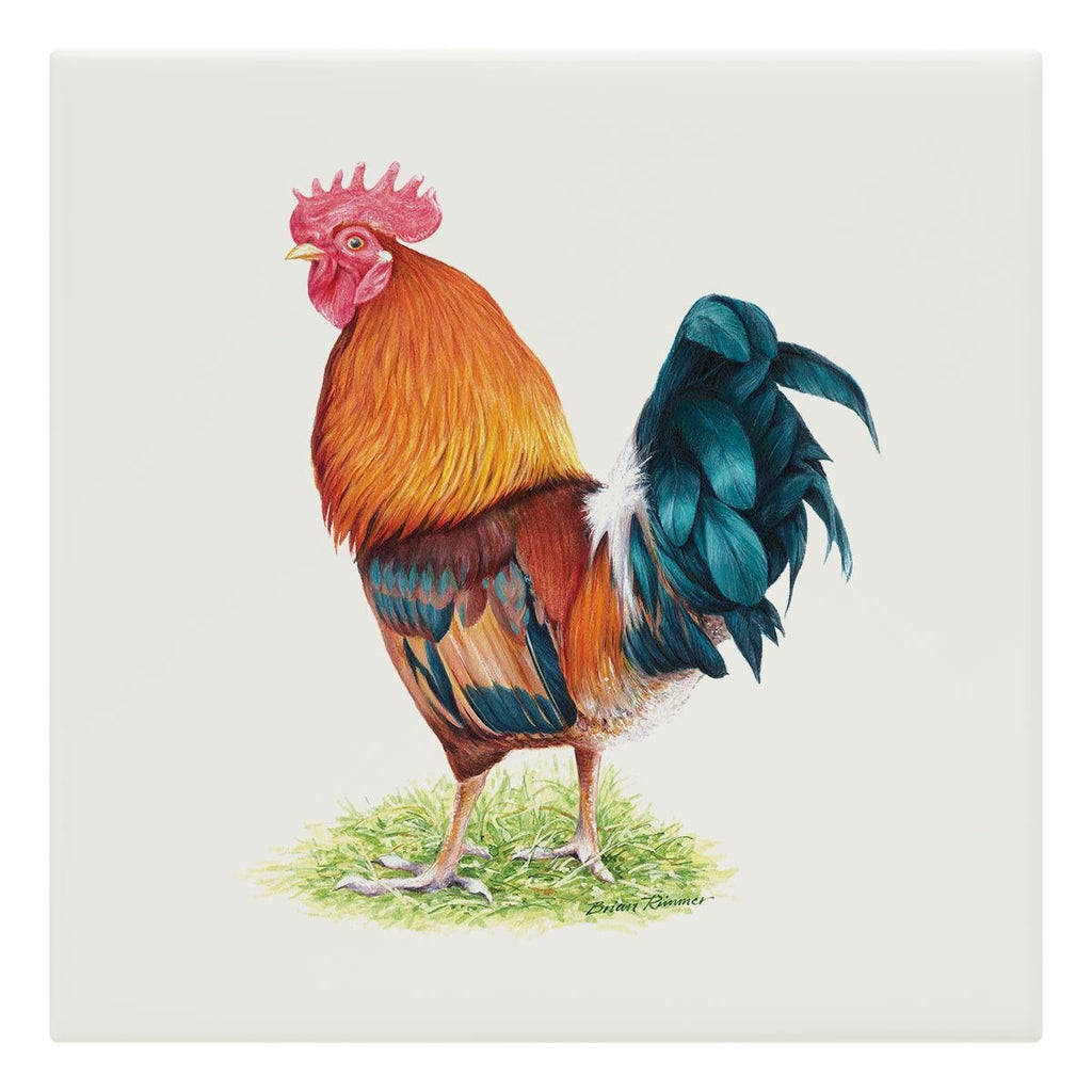 Cockerel Tile - Countryman John