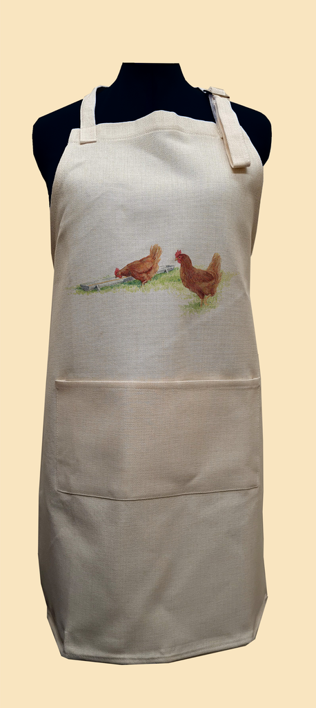 Drinking Hens Apron