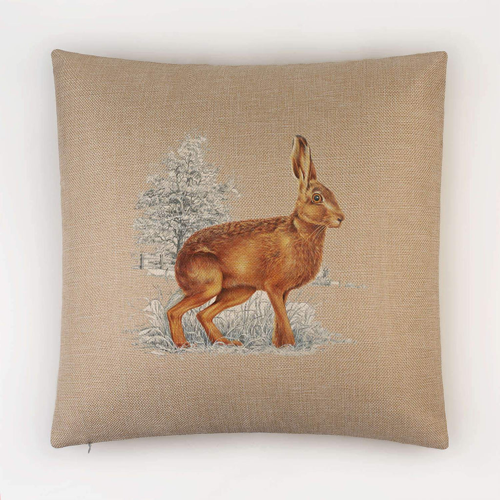 Hare Cushion - Countryman John