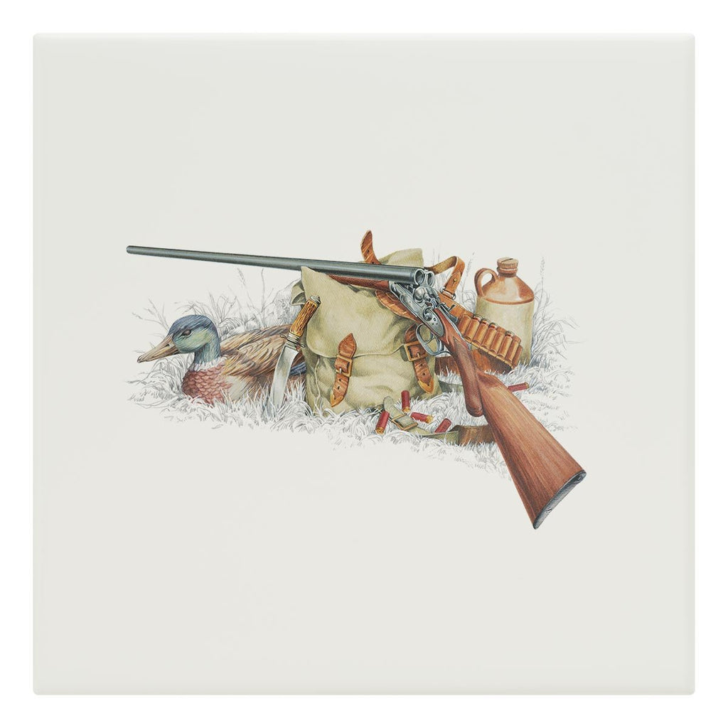 Shotgun and Mallard Tile - Countryman John