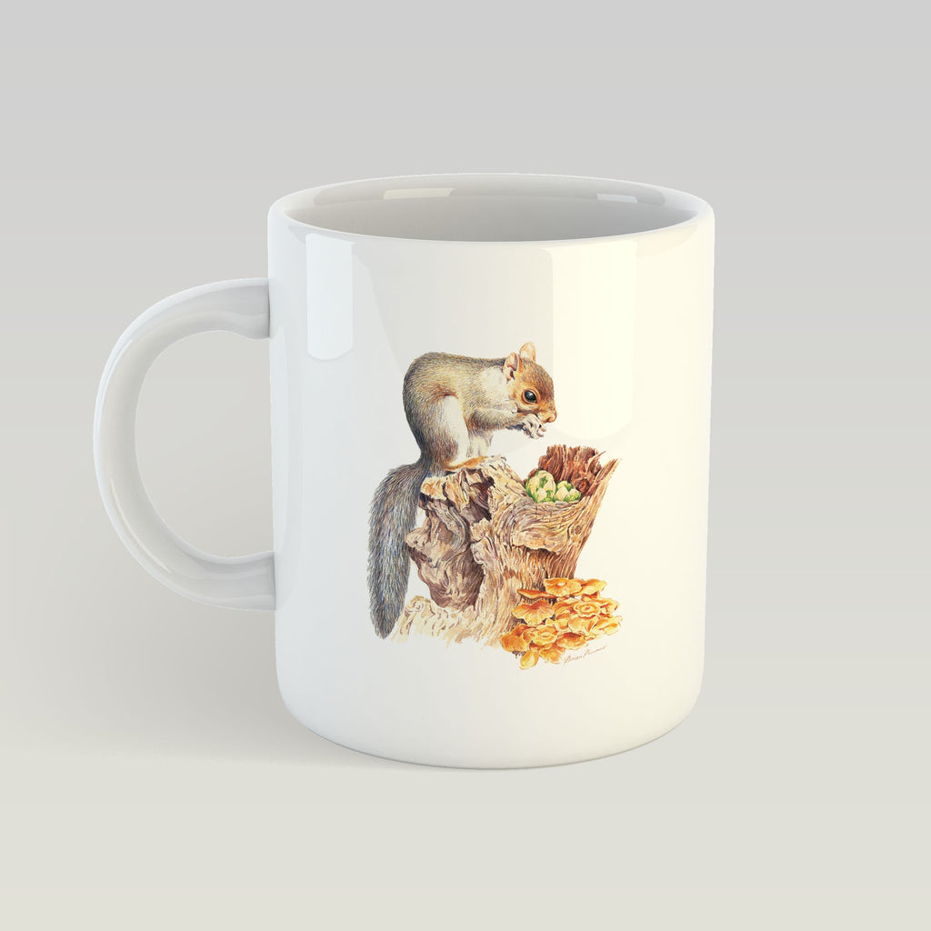 Grey Squirrel Mug - Countryman John