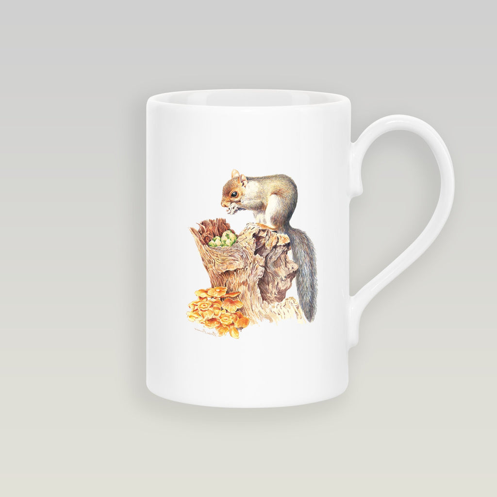 Grey Squirrel Slim Mug - Countryman John