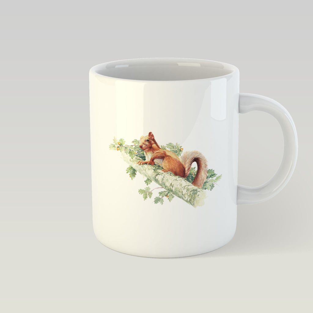 Red Squirrel Mug - Countryman John