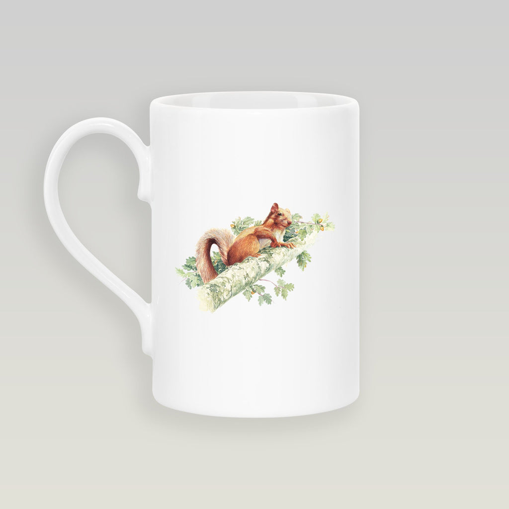 Red Squirrel Slim Mug - Countryman John