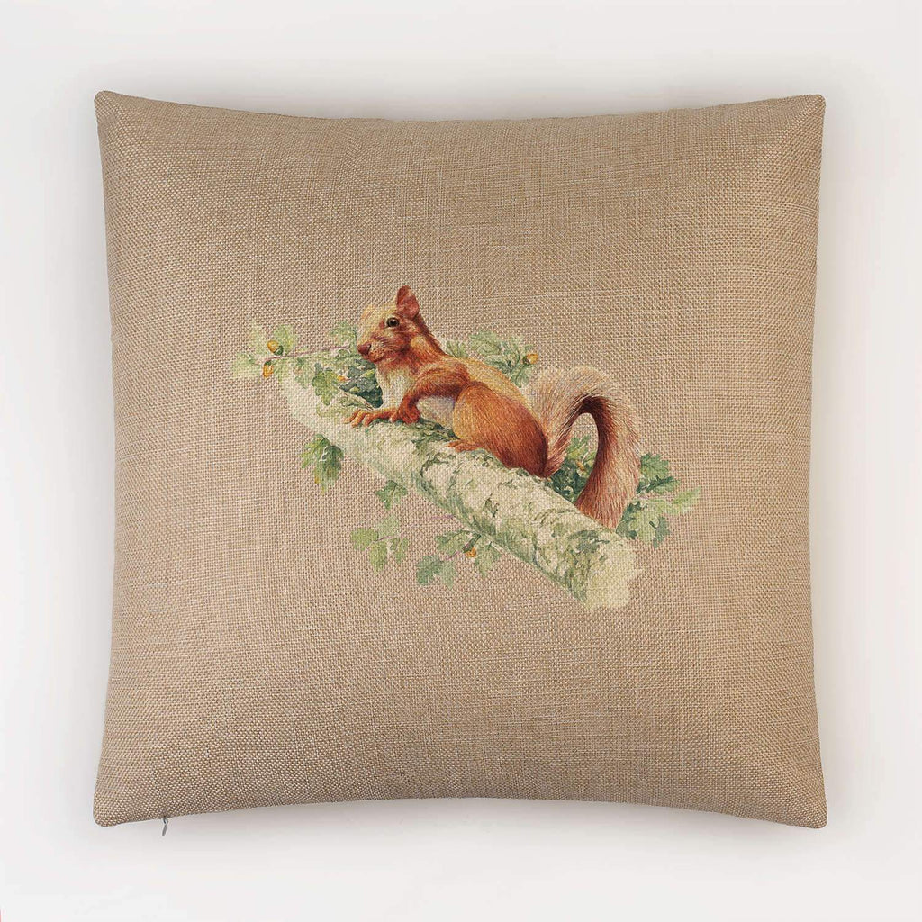 Red Squirrel Cushion - Countryman John
