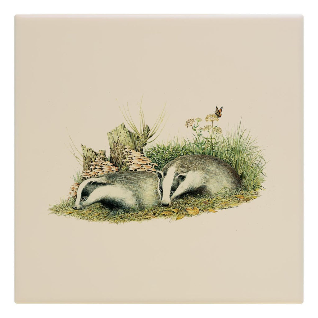 Badger Cubs Tile - Countryman John